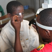 Even young children in Mali sometimes have serious cataracts