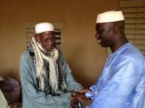 Meeting the elders of San