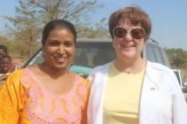 The First Lady of Ouelessebougou, Marissa Samake and The US Ambassador Mary Beth Leonard