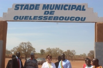 Visit to the Stadium in Ouelessebougou