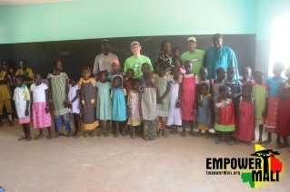 Thank you BYAW for bring new dresses to our small girls in Ferekoroba