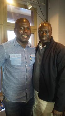 Kweku Mandela and Yeah Samake